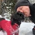Puppy-dog kisses